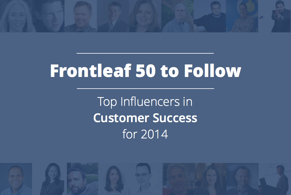 Top Influencers in Customer Success for 2014